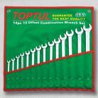 TOPTUL GAAA1408 14 Piece Offset Standard Combination Wrench