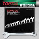 TOPTUL  GPAQ1402 14 Piece Metric Dynamic Super Torque Wrench Set