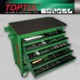 TOPTUL GT34001 W/8Drawer Tool Trolley 340Piece Tool Set
